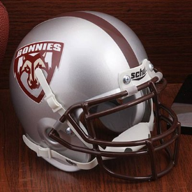 St Bonaventure Bonnies Schutt XP Authentic Mini Football Helmet