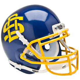 South Dakota State Jackrabbits Schutt XP Authentic Mini Football Helmet