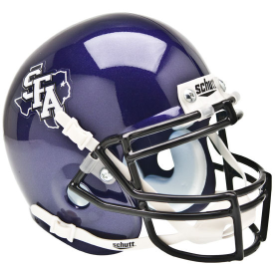 Stephen F Austin Schutt XP Authentic Mini Football Helmet