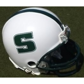 Slippery Rock Rockets Schutt XP Authentic Mini Football Helmet