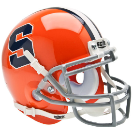 Syracuse Orangemen Schutt XP Authentic Mini Football Helmet