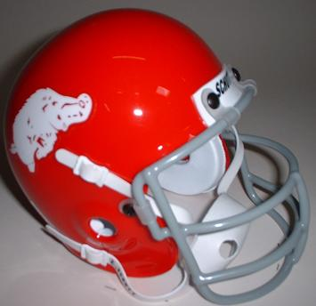 Arkansas Razorbacks 1964-66 Throwback Schutt Authentic Mini Football Helmet
