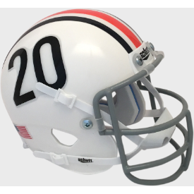 Auburn Tigers 1961-65 Throwback Schutt Authentic Mini Football Helmet