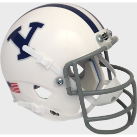 Brigham Young Cougars 1978 Throwback Schutt Authentic Mini Football Helmet