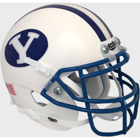 Brigham Young Cougars 1984 Throwback Schutt Authentic Mini Football Helmet