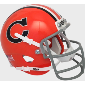 Clemson Tigers 1966 Throwback Schutt Authentic Mini Football Helmet