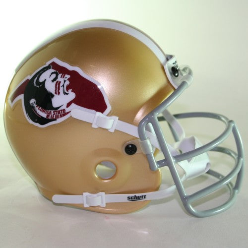 Florida State Seminoles 1975 'Seminole Head' Throwback Schutt Authentic Mini Football Helmet