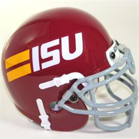Iowa State Cyclones 1981-82 Throwback Schutt Authentic Mini Football Helmet