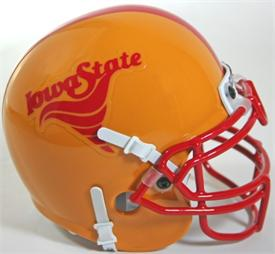 Iowa State Cyclones 1983-86 Throwback Schutt Authentic Mini Football Helmet