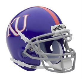 Kansas Jayhawks 2010-12 Throwback Schutt Authentic Mini Football Helmet