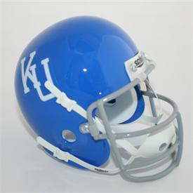 Kansas Jayhawks 1964 Throwback Schutt Authentic Mini Football Helmet