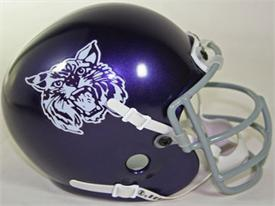 Kansas State Wildcats 1972-73 Throwback Schutt Authentic Mini Football Helmet