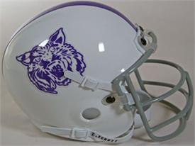 Kansas State Wildcats 1974 Throwback Schutt Authentic Mini Football Helmet