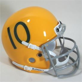 Miami Hurricanes 1959-63 Throwback Schutt Authentic Mini Football Helmet