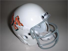 Miami Hurricanes 1970 Throwback Schutt Authentic Mini Football Helmet