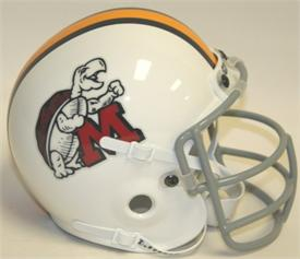 Maryland Terrapins 1970 Throwback Schutt Authentic Mini Football Helmet