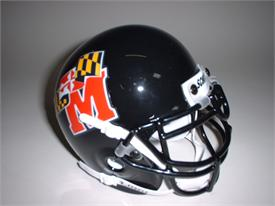 Maryland Terrapins 1997-2000 Throwback Schutt Authentic Mini Football Helmet
