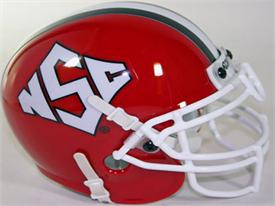 NC State Wolfpack 1999 Throwback Schutt Authentic Mini Football Helmet