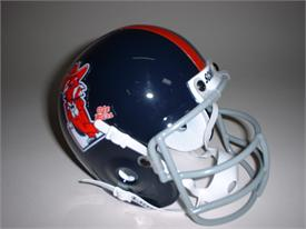 Ole Miss Rebels 1970 Throwback Schutt Authentic Mini Football Helmet
