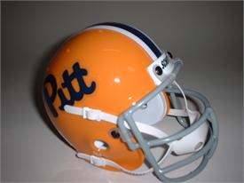 Pittsburgh Panthers 1976 Throwback Schutt Authentic Mini Football Helmet