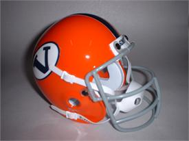 Virginia Cavaliers 1968-74 Throwback Schutt Authentic Mini Football Helmet