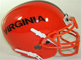 Virginia Cavaliers 1975-76 Throwback Schutt Authentic Mini Football Helmet