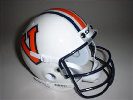 Virginia Cavaliers 1978-81 Throwback Schutt Authentic Mini Football Helmet