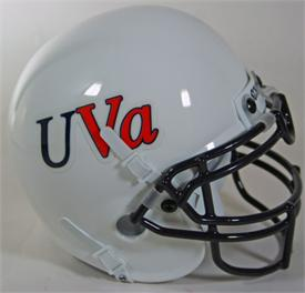 Virginia Cavaliers 1982-83 Throwback Schutt Authentic Mini Football Helmet