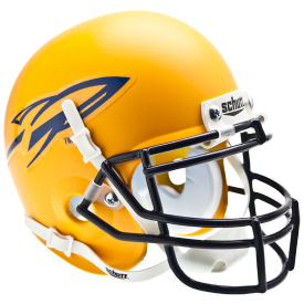 Toledo Rockets Matte Yellow Schutt XP Authentic Mini Football Helmet