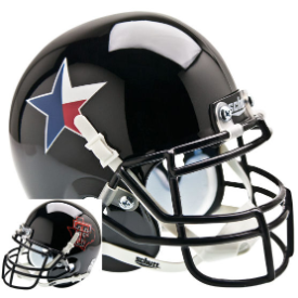 Texas Tech Red Raiders Star Schutt XP Authentic Mini Football Helmet