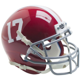 Alabama Crimson Tide Schutt XP Authentic Mini Football Helmet