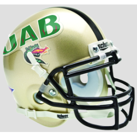 Alabama-Birmingham (UAB) Blazers Schutt XP Authentic Mini Football Helmet
