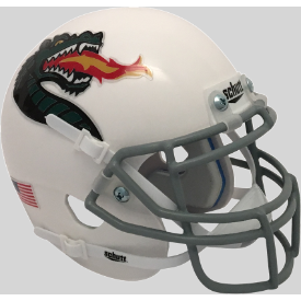 Alabama-Birmingham (UAB) Blazers White Dragon Schutt XP Authentic Mini Football Helmet