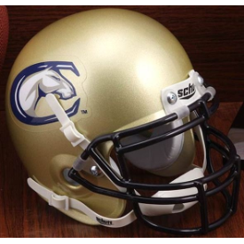 UC Davis Aggies Schutt XP Authentic Mini Football Helmet