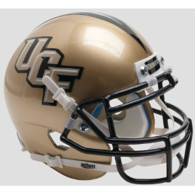 Central Florida Golden Knights Gold Schutt XP Authentic Full Size Football Helmet