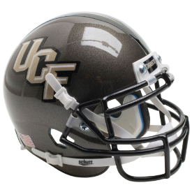 Central Florida Golden Knights Gray Schutt XP Authentic Mini Football Helmet