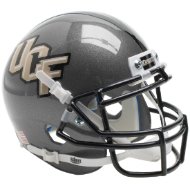 Central Florida Golden Knights Pewter Schutt XP Authentic Mini Football Helmet
