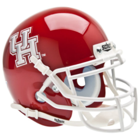 Houston Cougars Schutt XP Authentic Mini Football Helmet