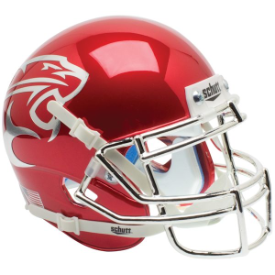 Houston Cougars Chrome Schutt XP Authentic Mini Football Helmet