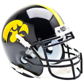 Iowa Hawkeyes Schutt XP Authentic Mini Football Helmet