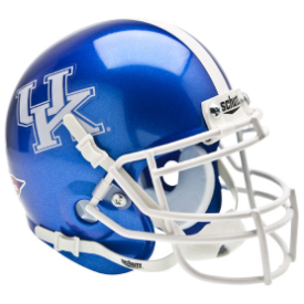 Kentucky Wildcats Schutt XP Authentic Mini Football Helmet