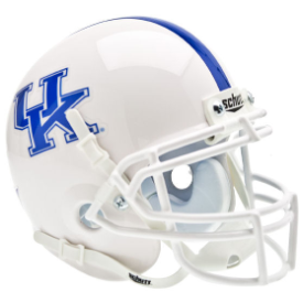 Kentucky Wildcats White Schutt XP Authentic Mini Football Helmet