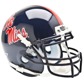 Mississippi (Ole Miss) Rebels Schutt XP Authentic Mini Football Helmet