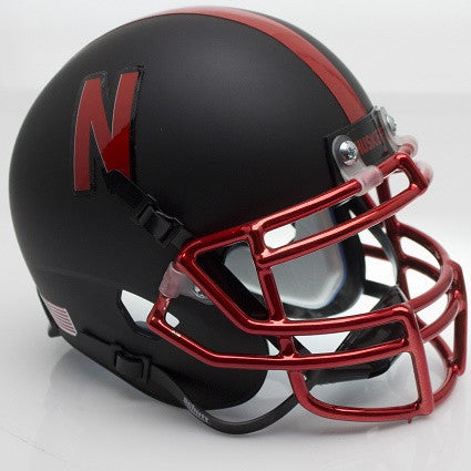 Nebraska Cornhuskers Alt 2015 Schutt XP Authentic Mini Football Helmet