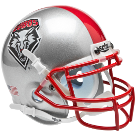 New Mexico Lobos Schutt XP Authentic Mini Football Helmet