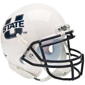 Utah State Aggies Schutt XP Authentic Mini Football Helmet