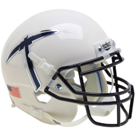 UTEP Miners White With Pickaxe Schutt XP Authentic Mini Football Helmet