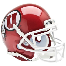 Utah Utes Schutt XP Authentic Mini Football Helmet