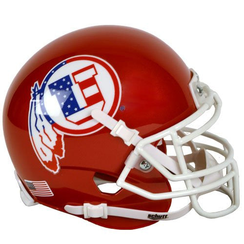 Utah Utes Flag Decal Schutt XP Authentic Mini Football Helmet