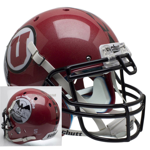 Utah Utes Ute Tribute Schutt XP Authentic Mini Football Helmet